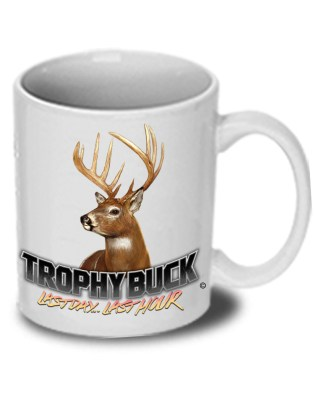 "Follow the Action - Whitetail Deer ""Trophy Buck"" Ceramic Mug"