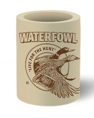 Follow the Action Waterfowl (Duck) Koozie Can Cooler