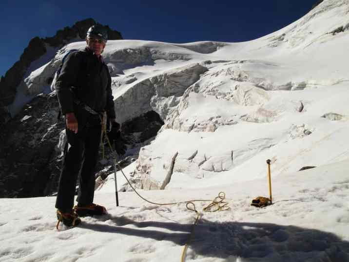 Sul Glacier des Violettes