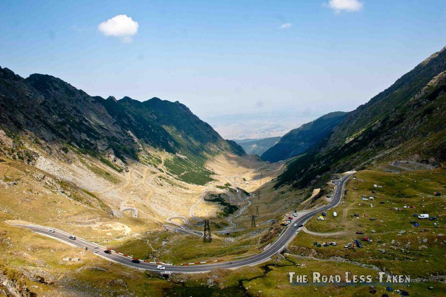 Land Rover, Transfagarasan road, Romania