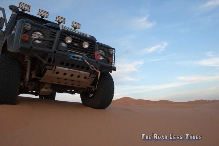 desert driving, morocco