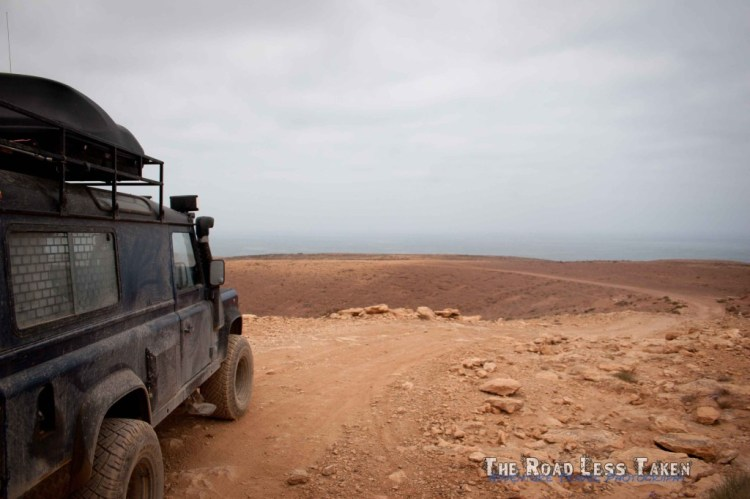 Atlantic coast morocco 4x4