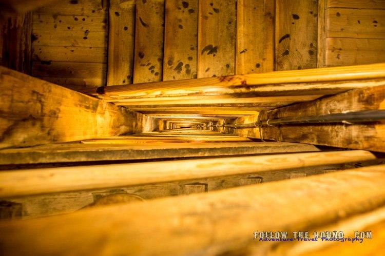 Wieliczka salt mines stairs