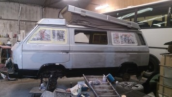 Painting a VW Syncro