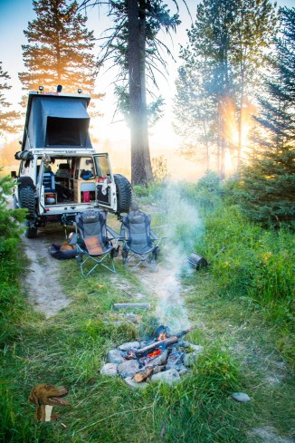 Another Awesome #wildcamp night near #Glacier #National #Park