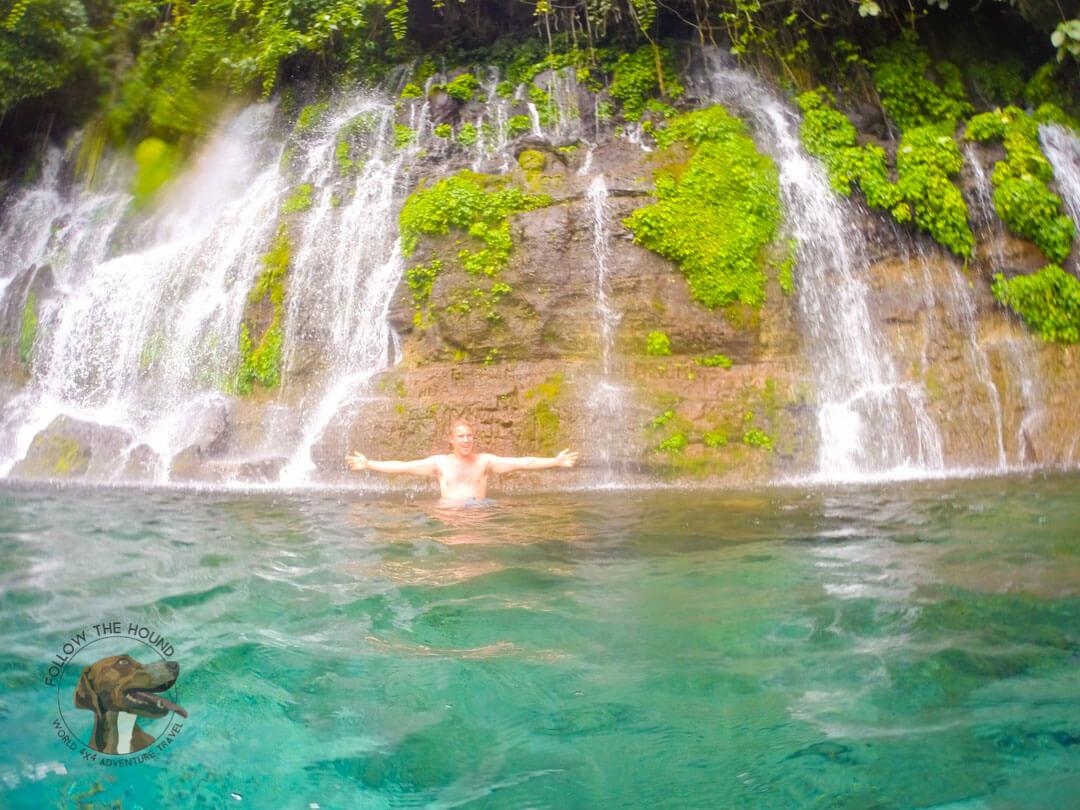 Waterfalls Juayua El Salvador