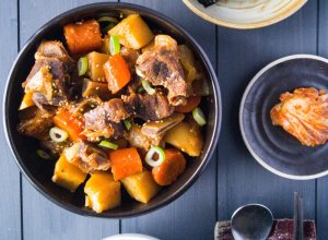 Galbi Jjim: Korean Braised Beef Short Ribs