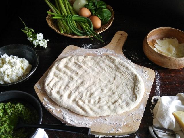 Garlic Scape Pizza (1 of 9)