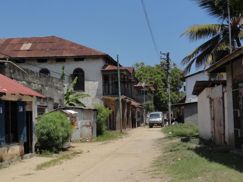 Indian Street in Pangani