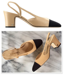 chanel-two-tone-cap-toe-slingback-pumps-beige-black