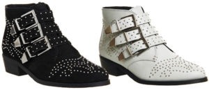 office-lucky-charm-studded-ankle-boots-black-white-chloe-susanna-dupes