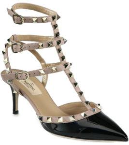 valentino-rockstud-kitten-heels-black-nude-patent
