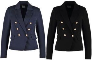 vero-moda-military-double-breasted-blazer-navy-blue-black-balmain-dupes