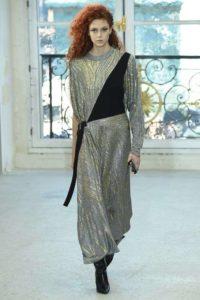 vestito-oro-e-grigio-louis-vuitton