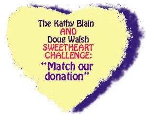 Sweetheart challenge: match Doug and Kathy's donation