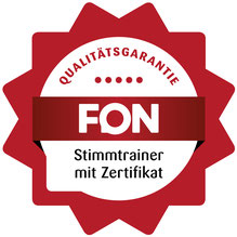 Fon Akademie Stimmtrainer Zertifikat