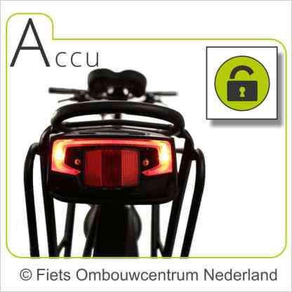 Ombouwset Middenmotor Bafang BBS accu 03