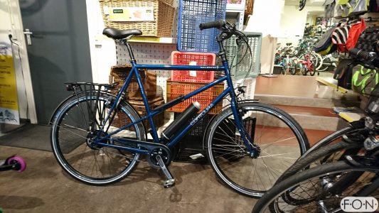 Contoura Salerno ombouwen tot elektrische fiets