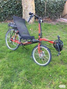 Flevobike ligfiets elektrisch maken met Bafang middenmotor ombouwset FON Arnhem