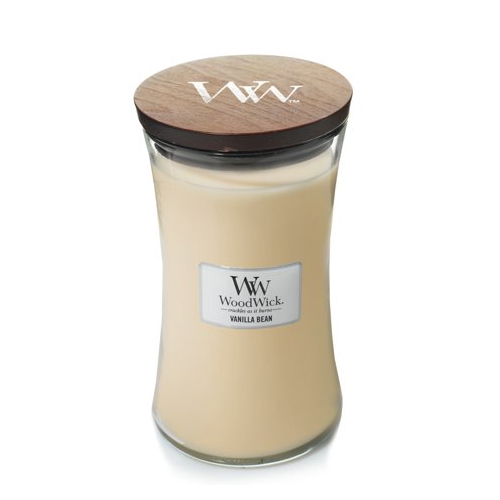 Woodwick Vanilla Bean vela grande