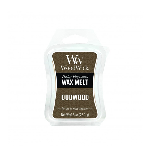 Woodwick oudwood cera quemador
