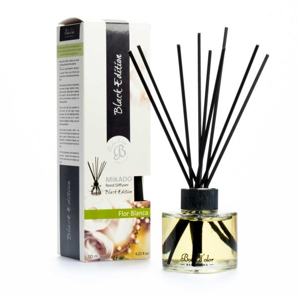 MIKADO Black Edition 125 ml. Flor Blanca 0800023