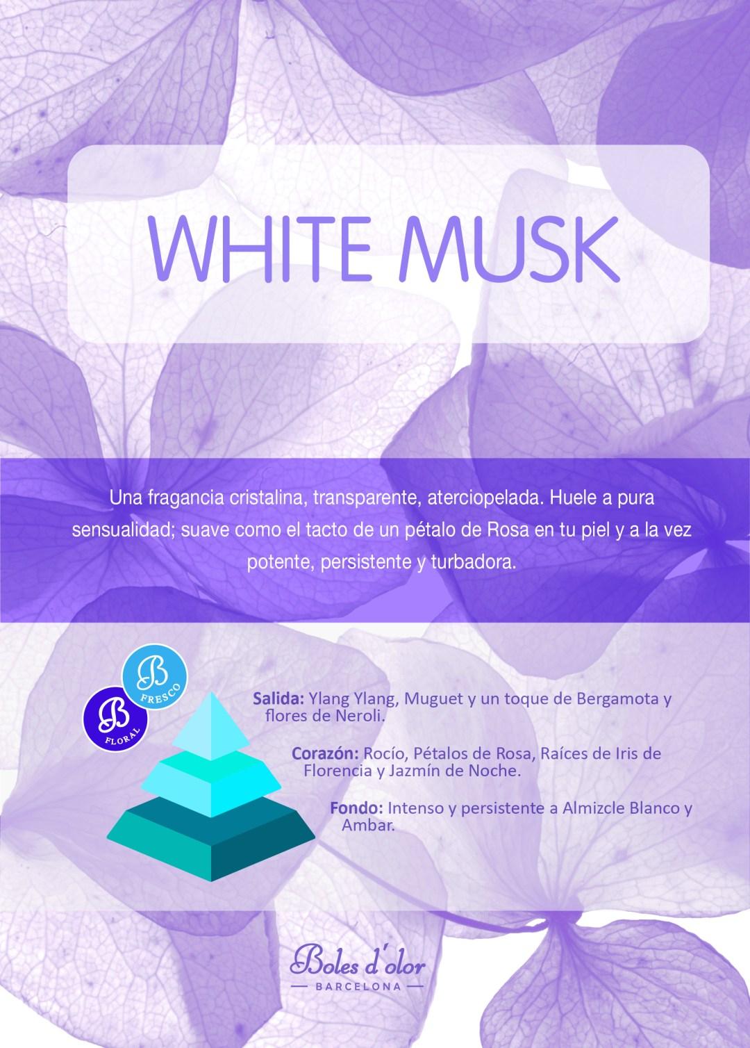WHITE MUSK Piramide Ambients