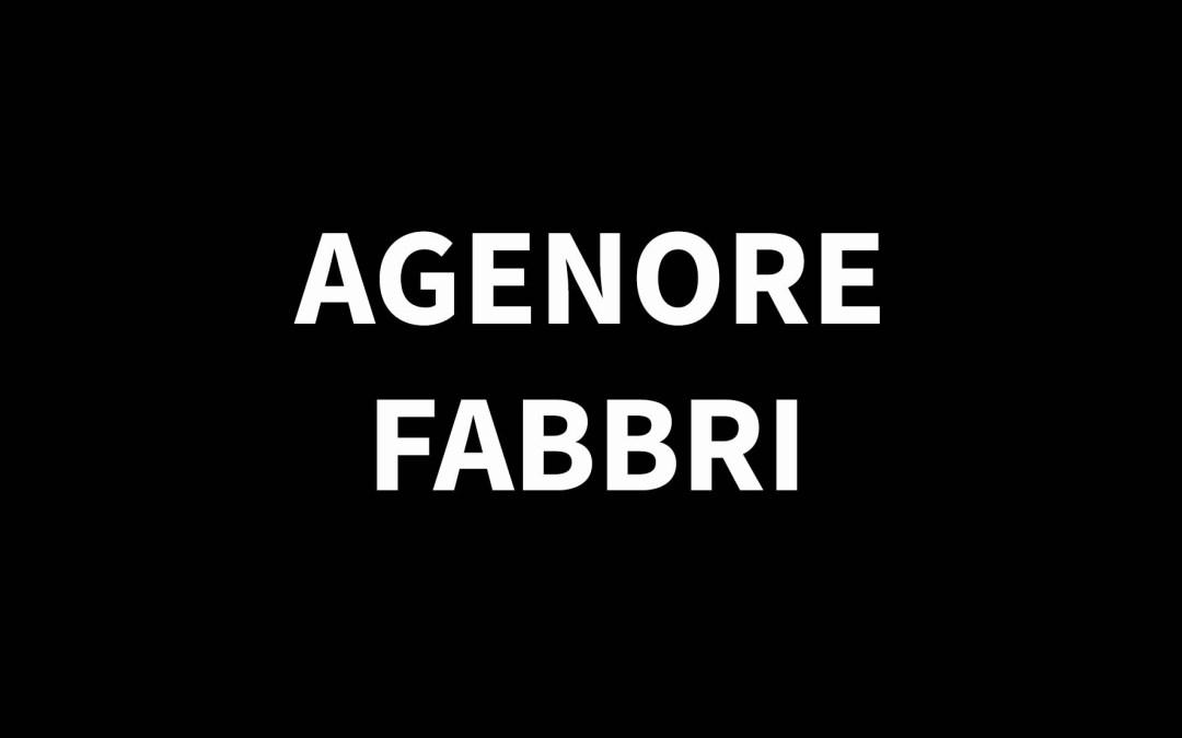 AGENORE FABBRI1911 – 1998