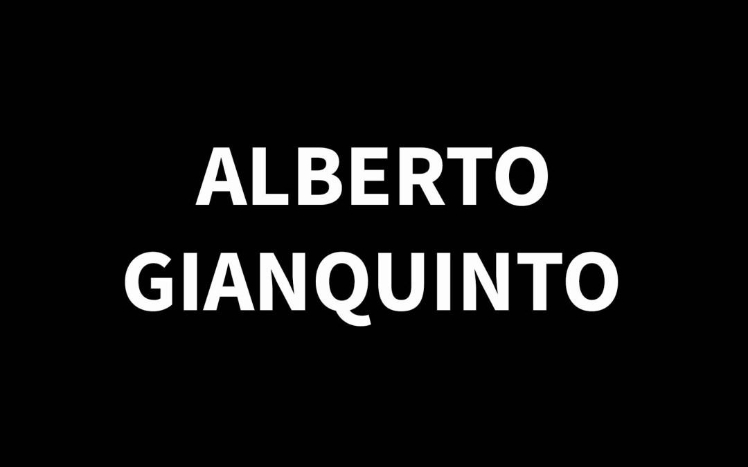 ALBERTO GIANQUINTO1929 – 2003