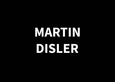 MARTIN DISLER1949 – 1996