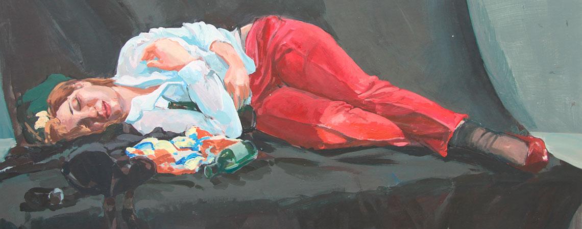 Peinture de Yingwei Jia, 3e année 2017-2018