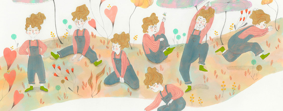 Illustration de Lucy Rueda, 5e année 2017-2018