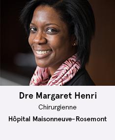 Dre Margaret Henri - membre du comité À Votre Santé!