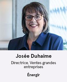 Josée Duhaime - membre du comité À Votre Santé!