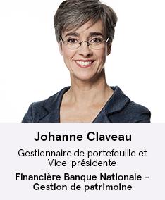 Johanne Claveau - membre du comité À Votre Santé!
