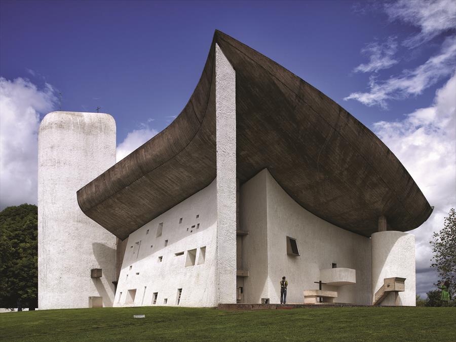 """Résultat de recherche d'images pour """"la chapelle de ronchamp"""""""
