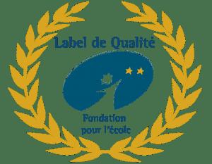 Label de qualité 2 étoiles or