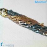Collana Conteria Goccia Oro Rotto in vetro di Murano – COLL0037