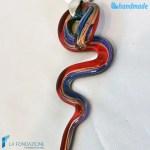 Collana Serpico in vetro di Murano – COLL0078
