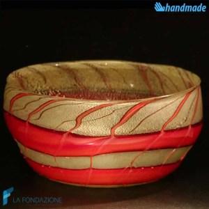 Bowl Lava Svuotatasche in vetro di Murano - BOWL0002
