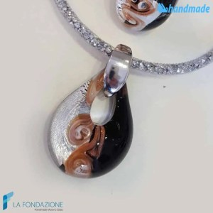 Parure Vortice con anello e pendente - PARU0029