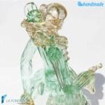 Cavaliere veneziano in vetro di Murano – SCUL005