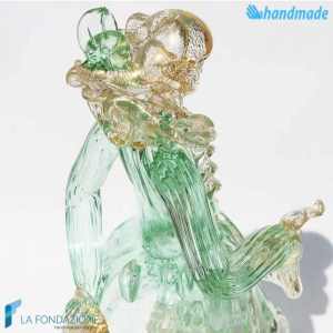 Venetian Knight made in Murano glass - SCUL005