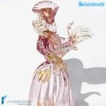 Duchessa Veneziana in vetro di Murano – SCUL007