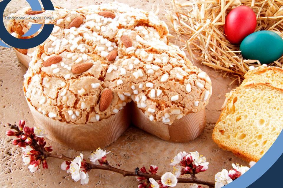 La Colomba pasquale il dolce tipico della tradizione Lombarda