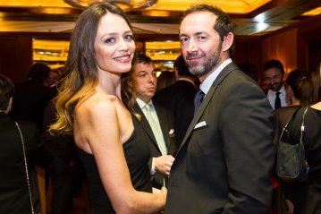 Francesca Cavallin e Stefano Remigi