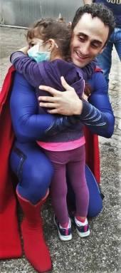 superman e bambina
