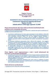 Manifesto delle professioni intellettuali