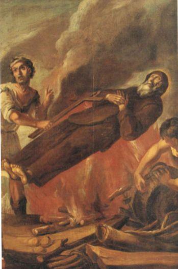 Juan De Espinal, Martirio di San Francesco, museo San Francesco di Paola
