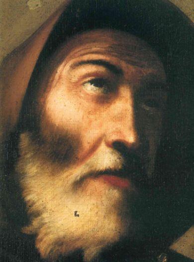 Gregorio Preti, Ritratto di San Francesco di Paola